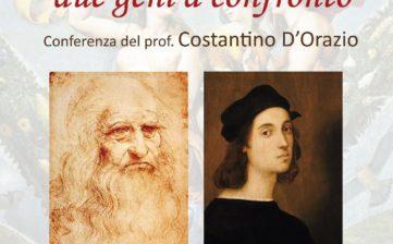 Raffaello e Leonardo, due geni a confronto